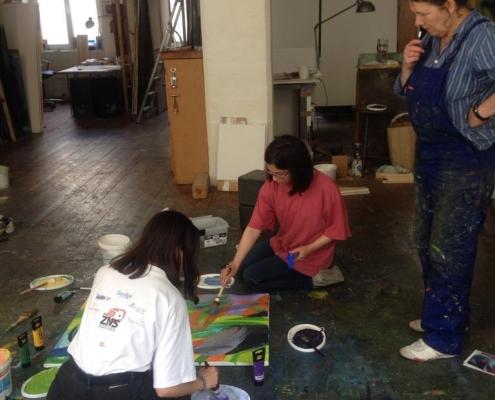 Workshop mit Joanna Gleich