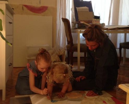 Workshop mit Olivia Altmann
