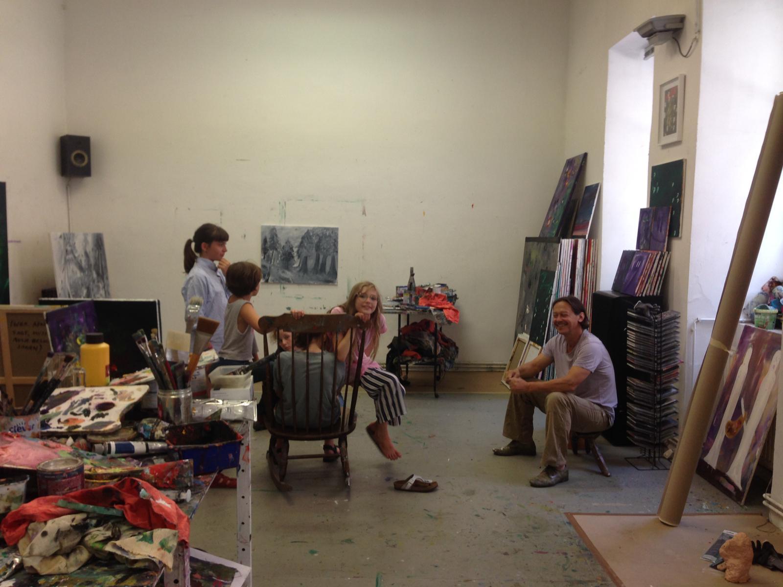 Workshop mit Ronald Kodritsch